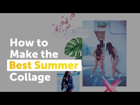 How to Make the Best Summer Collage | PicsArt Tutorial