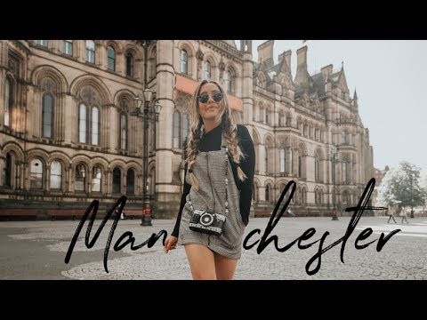 MANCHESTER TRAVEL VLOG + What I Ate (Vegan) | Caitlin Bea
