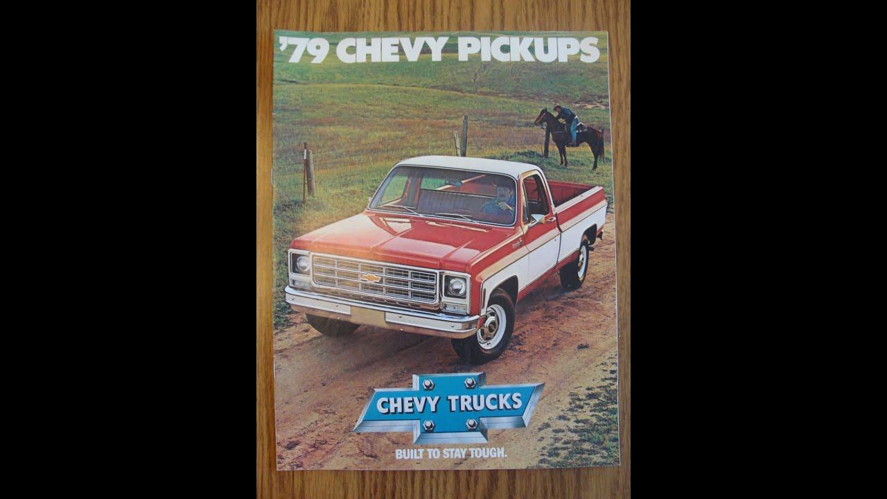 estate treasures finder ep 10 1 vintage 1979 chevy pick estate treasures finder ep 10 1 vintage 1979 chevy pick up truck dealership flyer ephemera