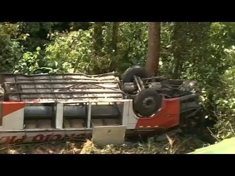 7 dead in Peru bus crash