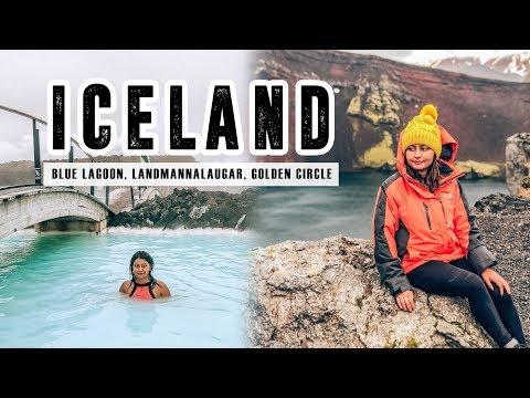 ICELAND VLOG (1/4): Blue Lagoon, Landmannalaugar, Golden Circle | Indian Girl In Iceland