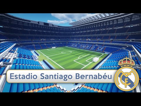Minecraft - MEGABUILD - Santiago Bernabéu (Real Madrid CF) + DOWNLOAD  [Official]