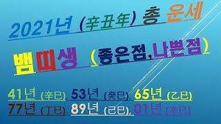 뱀띠생, 2021년총운세,금전운,애정운,사업운,건강운, 010/4258/8864