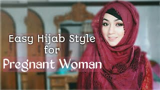 EASY EVERYDAY HIJAB LOOK for Pregnant WOMAN ft STYLINE COLLECTION | Pari ZaaD