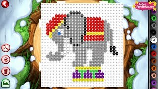 Hama Beads App 🎪 Circus Animals & Other Bead Creations for Kids