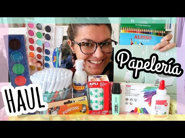 HAUL PAPELERIA ONLINE | Mega Haul Material Escolar 2018 | 20MilProductos