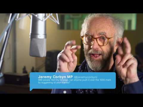 Jonathan Pryce performs 'Tweets That Sound Better Out Loud' (Extra content)