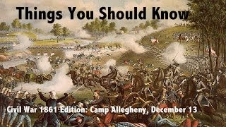 TYSK Civil War Battle 11 Camp Allegheny