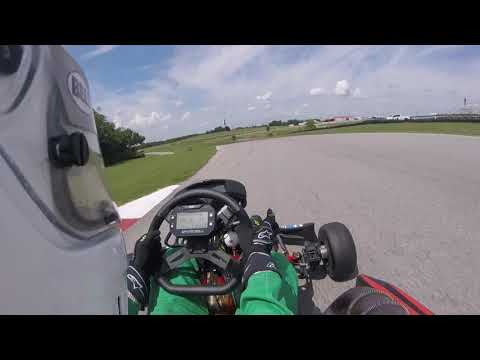 Hallett 125cc Shifter Kart Race 7/16/17