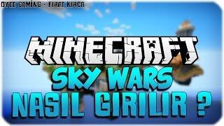 Minecraft Sky Wars Serverine Nasıl Girilir ? (TÜRKÇE)