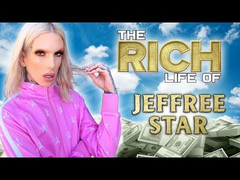 Jeffree Star | The Rich Life | FORBES Net worth 2019 ( Cars, Mansion, Cosmetics & more ) thumbnail