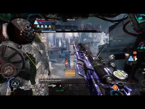 Titanfall 2 Predator Cannon at your disposal.