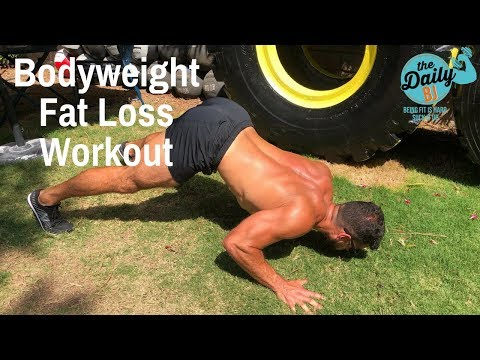 Bodyweight Fat Loss Workout Circuit | BJ Gaddour MetaShred