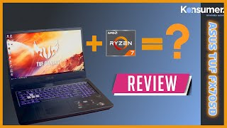 How is a Ryzen 7 powered laptop? Asus TUF FX705D review | Konsumer
