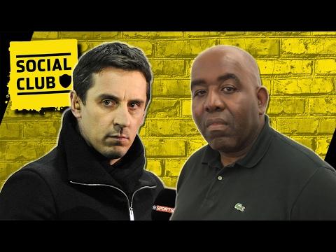 GARY NEVILLE CALLS ARSENAL FAN TV 'EMBARRASSING', ROBBIE RESPONDS | SOCIAL CLUB