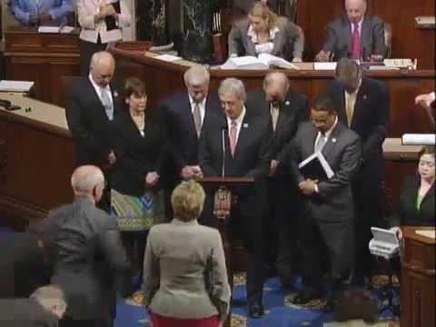 Moment of Silence for former Congressman Oberstar