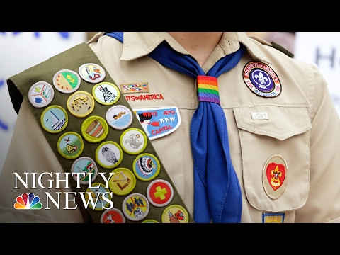 Boy Scouts Of America Now Accepts Transgender Children   NBC Nightly News