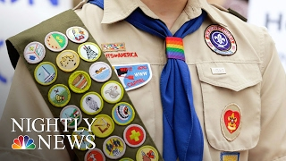 Boy Scouts Of America Now Accepts Transgender Children | NBC Nightly News
