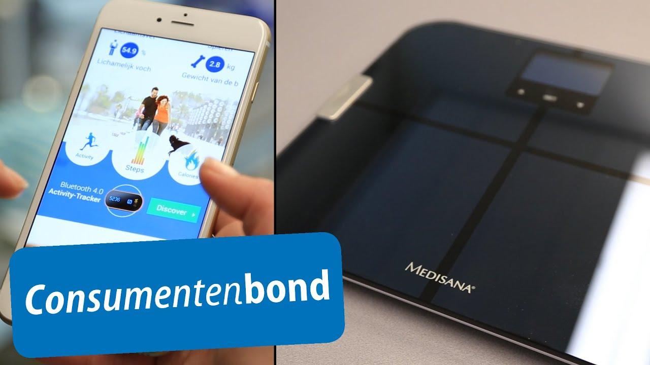 Medisana BS 440 weegschaal - Review (Consumentenbond) - YouTube