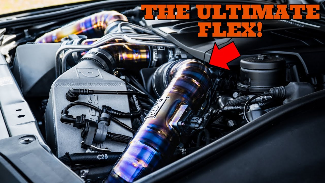 Want Your BMW To Stand Out? Install This INSANE Mod! - RK Titanium (F10 M5/M6 F80 M3/M4)