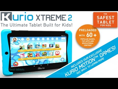 Kurio Xtreme 2 Review Android Tablet with Blue Bumper C15150