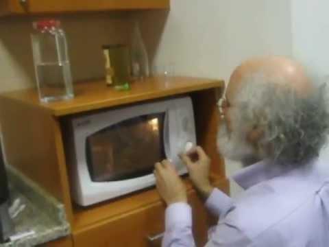 John Cohn Microwave Experiment @ Koç University Engineering Lounge