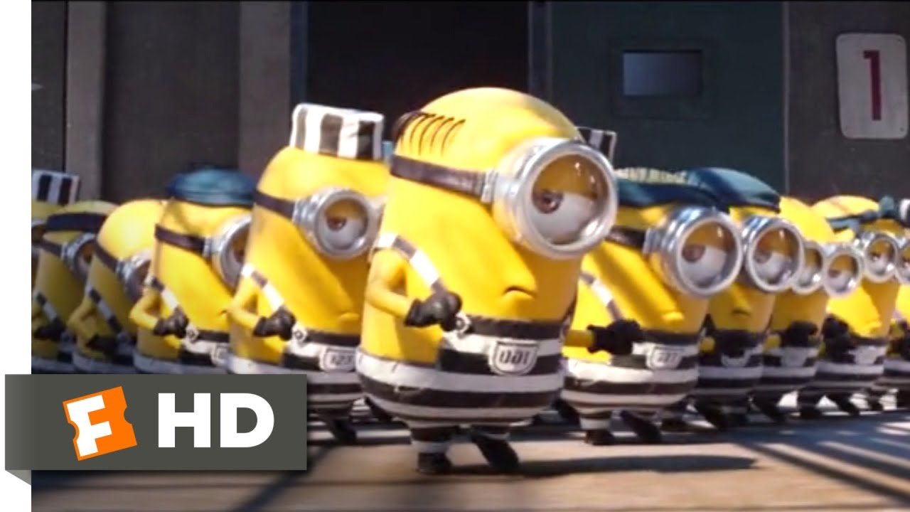 Download Despicable Me 3 (2017) - Minions in Jail Scene (6/10) | Movieclips