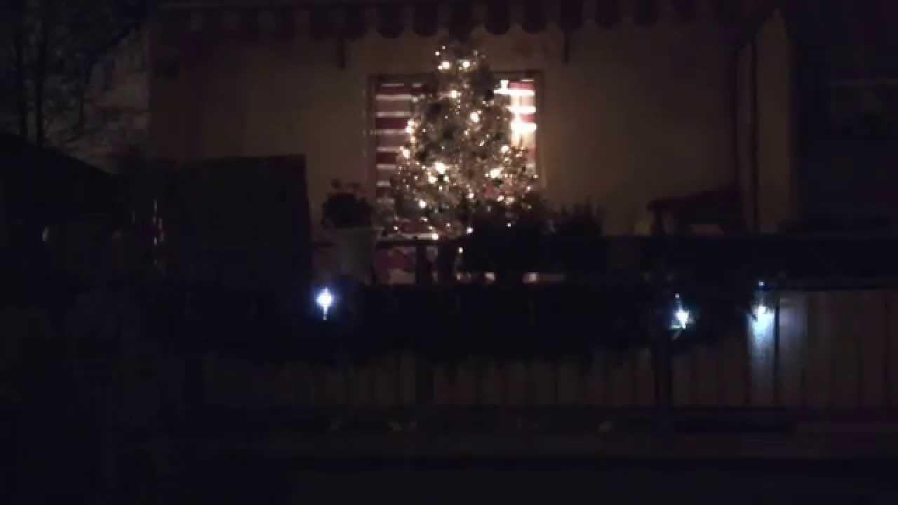 Xmas beleuchtung balkon   youtube