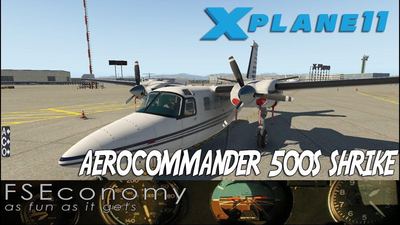 [IVAO] X-Plane 11 FSEconomy |Aerocommander 500S| VFR HACIA MENORCA!
