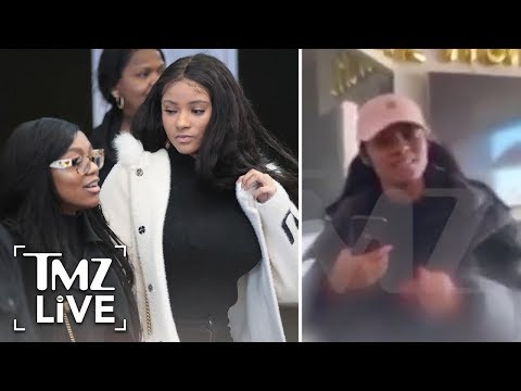 R  Kelly's GF Joycelyn Arrested After Brawl on Camera with Azriel | TMZ Live