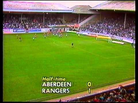 Aberdeen v Rangers 8 Oct 1988