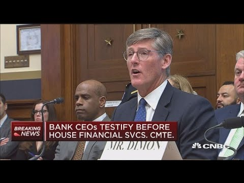Citi CEO Michael Corbat delivers his opening statement to the House Financial Services Committee