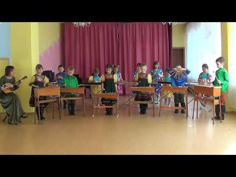 Оркестр в детском саду. Калинка. Детский сад 344. Город Челябинск.