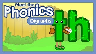 meet the phonics digraphs th