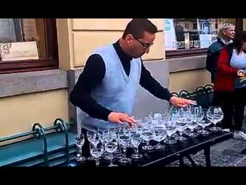 Water glass musical instrument-Glass Harmonica