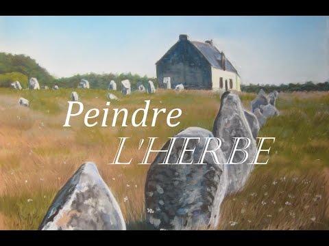 Peindre Un Paysage De Campagne Lherbe Folle Youtube
