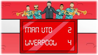 🎺2-4! MAN UTD vs LIVERPOOL!🎺 (Mane Klopp handshake, Salah, Jota, Firmino Goals Highlights)
