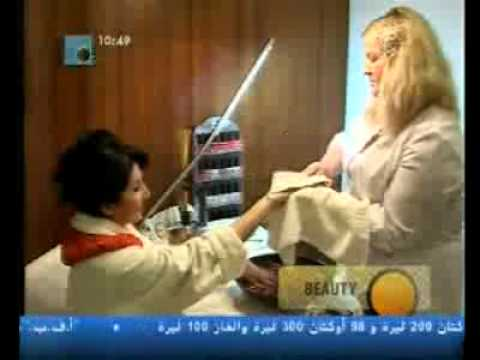Jane Nassar in Moscow - Hands and feet treatment