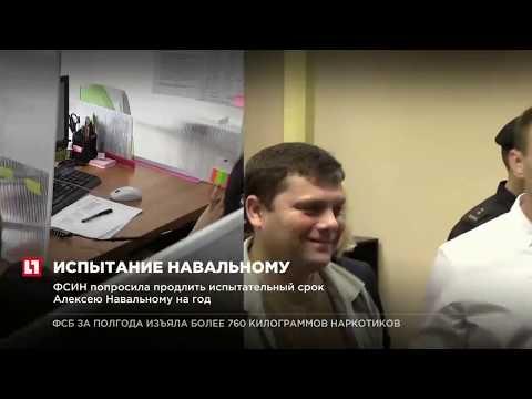 ФСИН попросила продлить испытательный срок Алексею Навальному на год