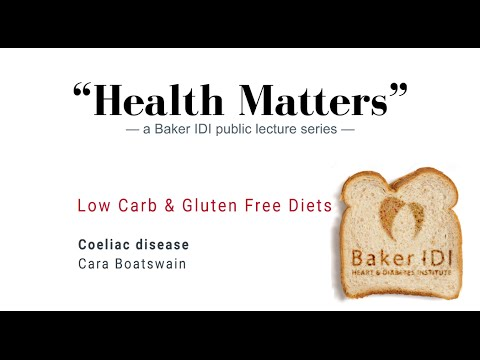 "Coeliac disease | ""Health Matters"" Low carb and gluten free diets 