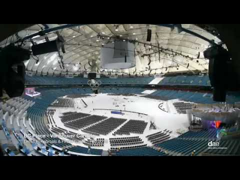Vancouver 2010 In Time Lapse (BC Place Stadium)