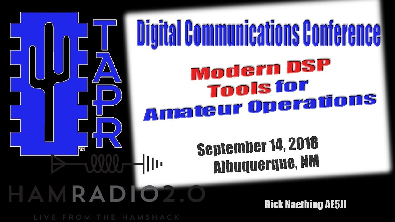 Episode 163: Modern DSP Tools for Amateur Radio Operations