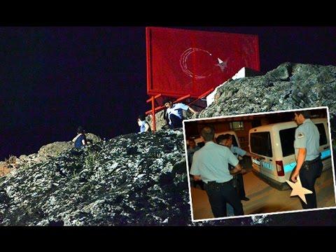 Türk Bayrağını Söktükleri Iddia Edilen şahıslara Suçüstü