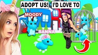She ONLY Wanted To ADOPT DIAMOND PETS So We Went Undercover To Find Out WHY In Adopt Me! (Roblox)