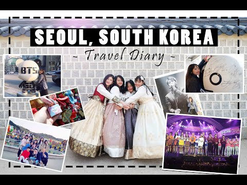 [VLOG #4] Spring in Seoul, South Korea | Travel Diary/Montage