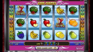 видео Бесплатный автомат Fruit Cocktail 2