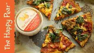 Vegan Pizza Puda w Jasmine Hemsley | THE HAPPY PEAR
