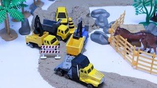 ของเล่นรถก่อสร้าง รถดั้ม รถแม็คโคร รถตักดิน รถบรรทุก - Working machines
