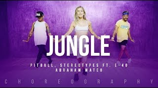 Jungle - Pitbull, Stereotypes ft. E-40, Abraham Mateo | FitDance Life (Choreography) Dance Video