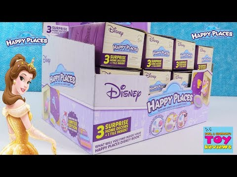 Disney Happy Places Full Box Surprise Limited Edition Hunt Toy Review Opening | PSToyReviews